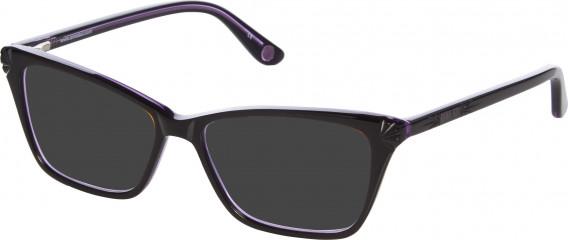 Anna Sui AS502 sunglasses in Black Purple