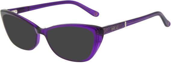 Anna Sui AS660A sunglasses in Purple