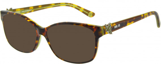 Anna Sui AS662A sunglasses in Tortoiseshell Green