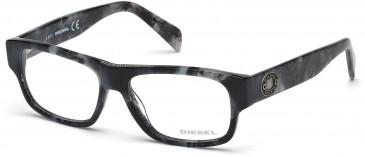 Diesel DL5064-54 glasses in Black