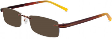 Converse CV Q022 sunglasses in Brown