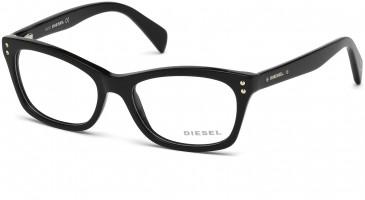 Diesel DL5073 glasses in Shiny Black