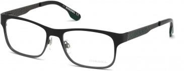 Diesel DL5074 glasses in Black