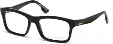 Diesel DL5075 glasses in Shiny Black