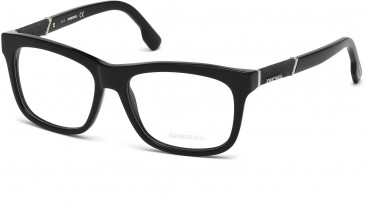 Diesel DL5077 glasses in Shiny Black