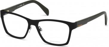 Diesel DL5081 glasses in Matt Black