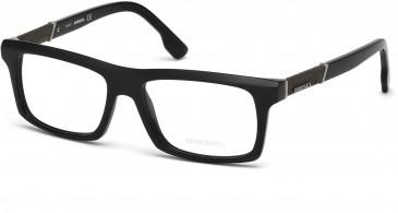 Diesel DL5084 glasses in Shiny Black
