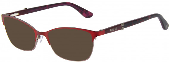 Anna Sui AS215A sunglasses in Red