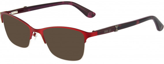 Anna Sui AS217A sunglasses in Red