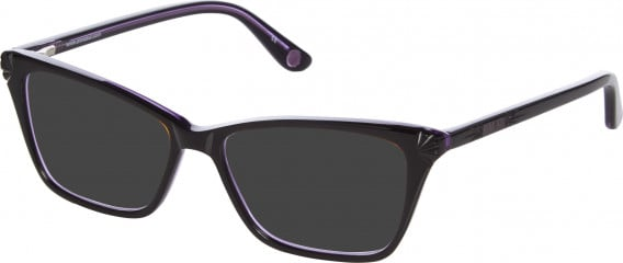 Anna Sui AS502 sunglasses in Black Purple