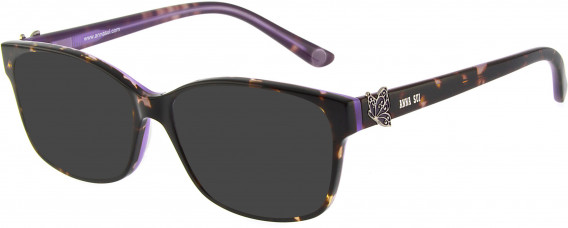 Anna Sui AS662A sunglasses in Tortoiseshell Purple