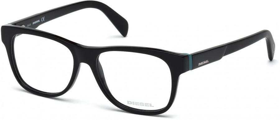 f221b65a56 Diesel DL5087 glasses in Shiny Black