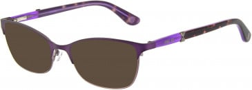 Anna Sui AS215A sunglasses in Purple