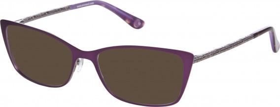 Anna Sui AS224 sunglasses in Purple/Light Gun