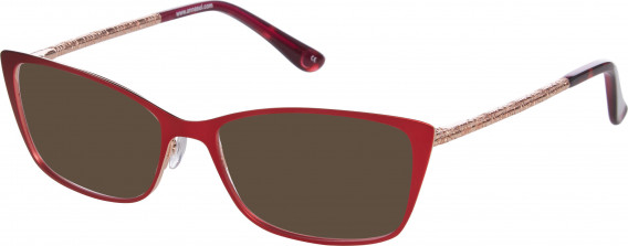 Anna Sui AS224 sunglasses in Red/Rose Gold