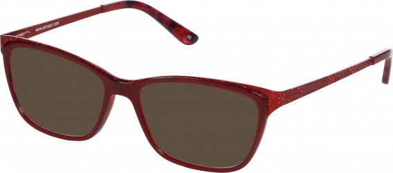 Anna Sui AS502 sunglasses in Red