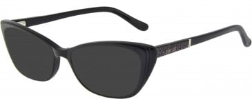 Anna Sui AS660A sunglasses in Black