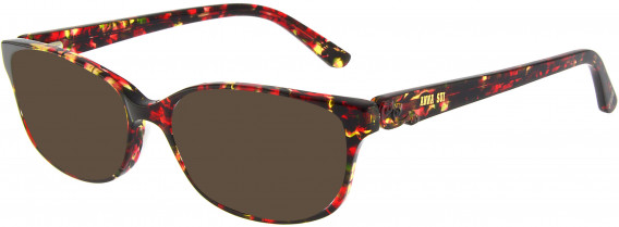 Anna Sui AS661A sunglasses in Red Tortoiseshell