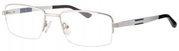 Ferucci FE2020 glasses in Silver/Blue