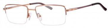 Ferucci FE2023 glasses in Bronze