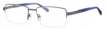 Ferucci FE2024 glasses in Navy/Gun