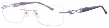 Ferucci Titanium FE712 glasses in Lilac