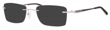 Ferucci Titanium FE713 sunglasses in Silver