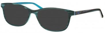 Rip Curl VOA158 sunglasses in Wood/Blue
