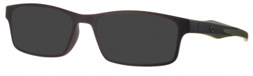Rip Curl VOG301 sunglasses in Black/Green