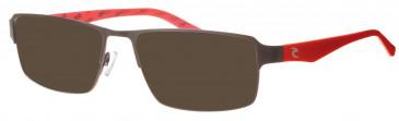 Rip Curl VOMG30 sunglasses in Black/Red