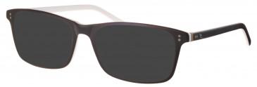 Rip Curl VOU001 sunglasses in Black/White