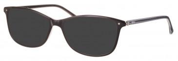 Rip Curl VOU003 sunglasses in Black/White