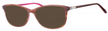 Rip Curl VOU300 sunglasses in Brown/Pink
