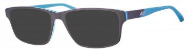 Rip Curl VOU301 sunglasses in Black/Blue