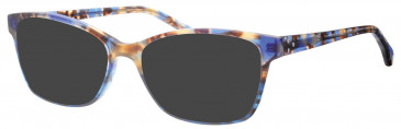 Synergy SYN6001 sunglasses in Havana/Blue