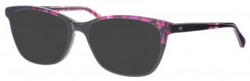 Synergy SYN6002 sunglasses in Black/Pink