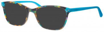 Synergy SYN6003 sunglasses in Havana/Green