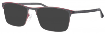 Synergy SYN6010 sunglasses in Black/Red