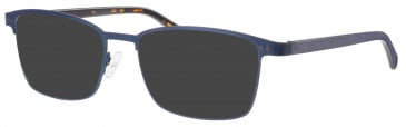 Synergy SYN6011 sunglasses in Navy/Gunmetal