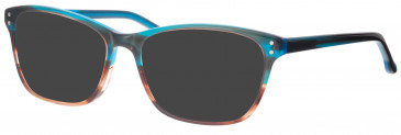 Synergy SYN6012 sunglasses in Aqua/Brown