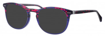 Synergy SYN6017 sunglasses in Red/Blue