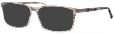 Ferucci FE194 sunglasses in Grey Mottle