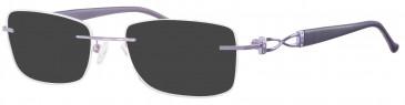 Ferucci Titanium FE712 sunglasses in Lilac