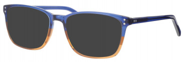 Synergy SYN6004 sunglasses in Matt Blue/Brown