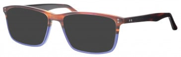 Synergy SYN6006 sunglasses in Brown/Blue
