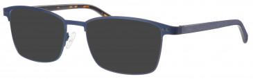 Synergy SYN6011 sunglasses in Navy/Gunmetal