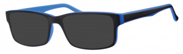 Visage VI4534 sunglasses in Black/Blue