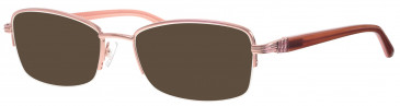 Ferucci FE1804 sunglasses in Pink