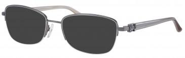Ferucci FE1806 sunglasses in Gunmetal