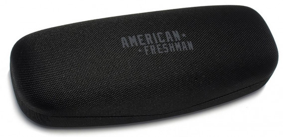 American Freshman glasses case in black